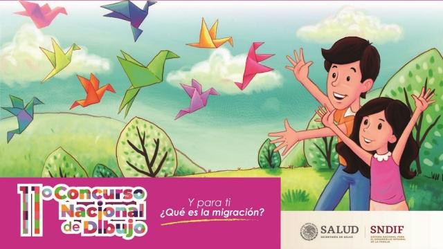 """11° Concurso Nacional de Dibujo """"Y para ti ¿Qué es la migración?"""