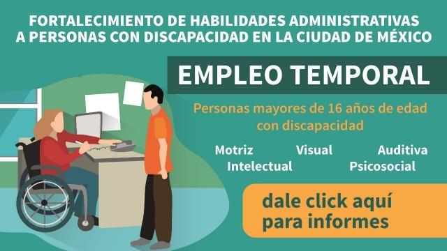 Fortalecimiento de habilidades administrativas a personas a personas con discapacidad