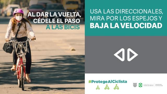 Protege al ciclista